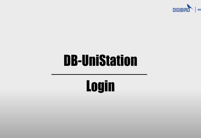 DB-UniStaion Feature Demo_Login