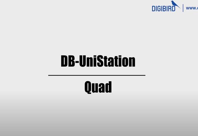 DB-UniStation Feature Demo-Quadview