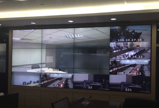 DigiBird Successful Implementation of Video Walls-2016
